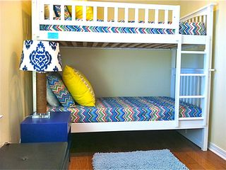 Crystal Beach house photo - Second Bunk room - Sleeps 2