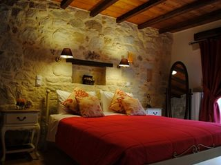 Platanias villa photo - Very romantic master bedroom