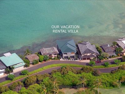 Aerial View of your vacation home