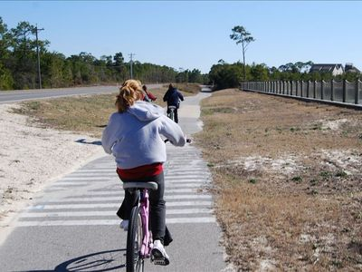 Best way to see 30A.  Why not rent a bike and ride to lunch?