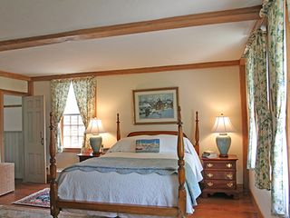 Nantucket Town house photo - Master Bedroom - View No. 1 with Full Bath En Suite