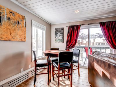Panorama Alpine Dining Breckenridge Vacation Condo Rentals