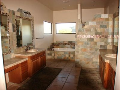 Master Bath -walk in shower-jacuzzi