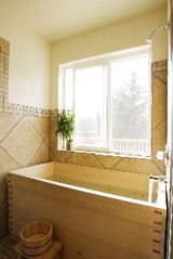 Girdwood lodge photo - Japanese wood Tub
