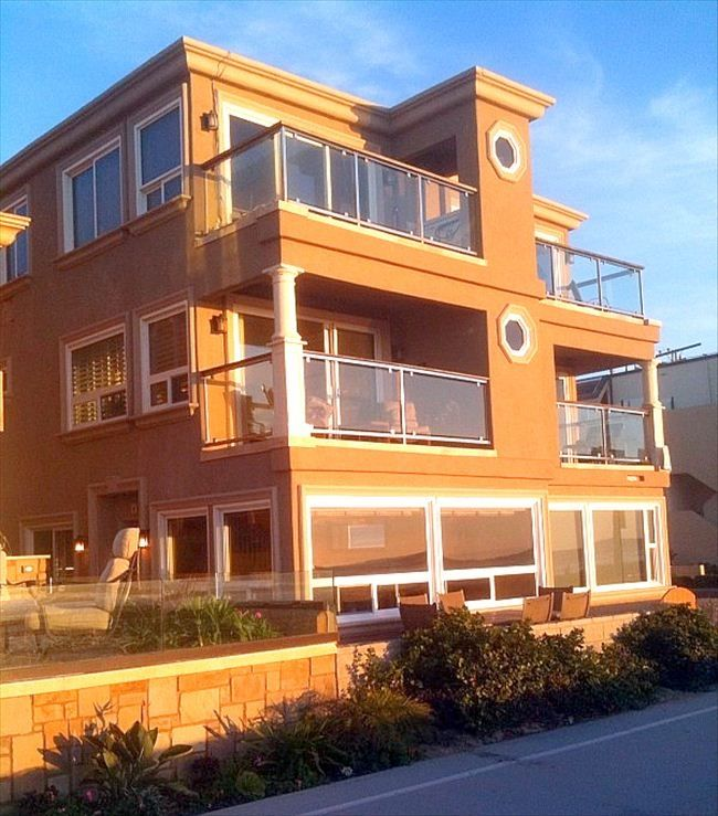 San Diego House Rentals On The Beach: Fabulous Mission Beach Oceanfront 3BR Condo! ...