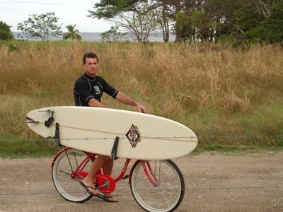 the only way to go , Surf Bike