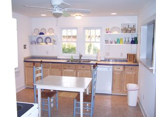 New Bern cottage photo - Kitchen area in Bamboo Cottage