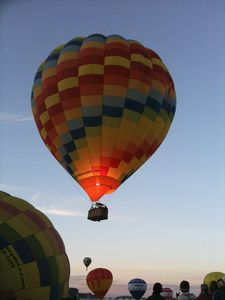 Take a ride with one of the local ballooning companies.