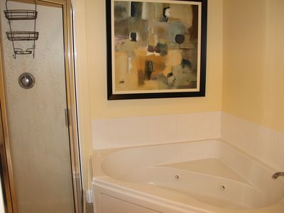 Master Bathroom - Jacuzzi Tub & Glassed Shower