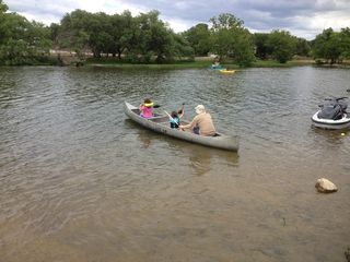 Austin cabin photo - Canoeing at Inks Lake State Park