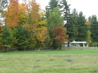 Lake Placid house photo - Fall colors starting to emerge!