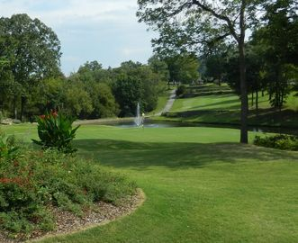Branson condo rental - Pointe Royale's Signature Hole #12