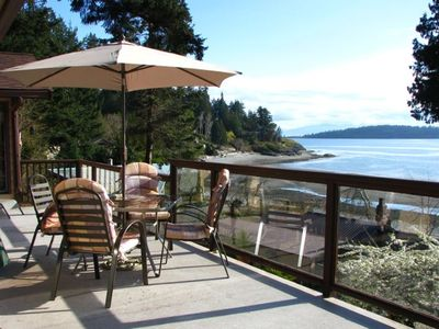 Enjoy this 500 sq ft deck for sunning, BBQ's, birdwatching, or just to relax
