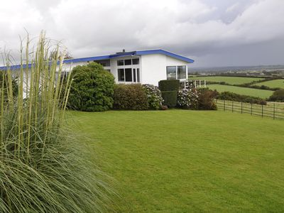 Malltraeth bungalow rental - Large rural house with stunning coastal and mountain views