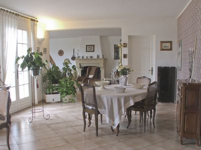 Detached villa in a quiet residential area with private pool.