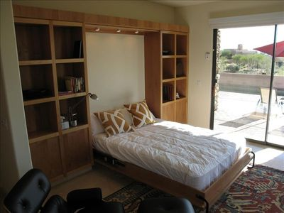 Master Suite #2 has queen-size murphy bed...