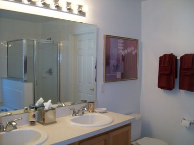 Twin basins Master Bathroom