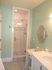 Newport condo photo - Luxury Baths with make Counters for getting ready for the night out on the Town