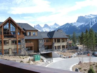 Canmore condo photo - Spectacular mountain views from balcony