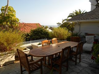 Patio Dining area - Laguna Beach house vacation rental photo