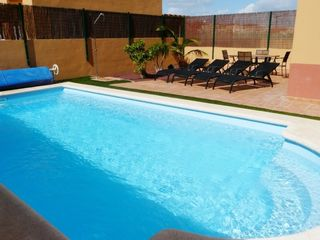 Private heated pool & rear terrace