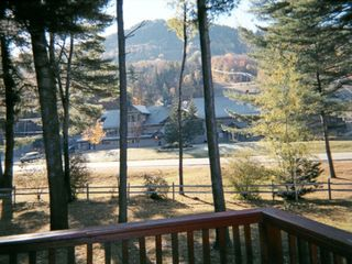 Bartlett condo photo - view of Attitash Ski Area from private balcony