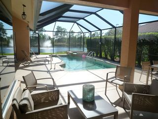 Sunny lanai - Naples house vacation rental photo