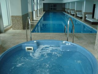 Cupecoy condo photo - Another indoor hot tub above the lap pool