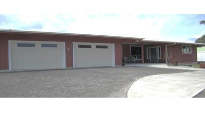 2-car enclosed garage