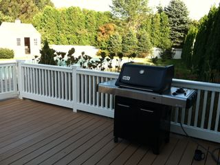Water Mill farmhouse photo - 4 burner Weber Grill (2012 model)
