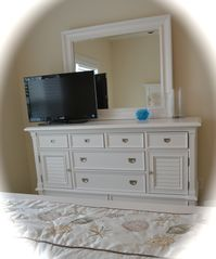 Private Homes house photo - Queen size bedrooms' dressers and TV on both 1st & 2nd floor