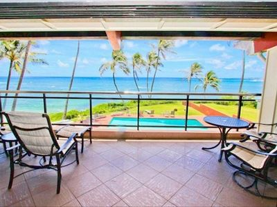 Breathtaking view from living area! Wall opens up for breathtaking views!