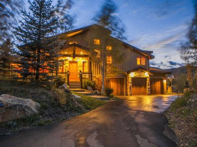 The Canyons house rental - Epic 6 bedroom home less than 1 mile from the Waldorf Gondola at Canyons
