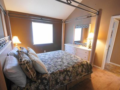 The Second Bedroom offers a Comfortable Queen Sized Bed