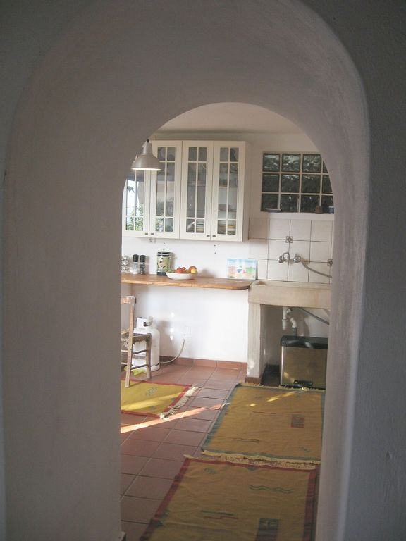 Looking from Dining Room to Kitchen