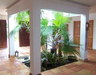 St. Croix villa photo - The Atrium when you first enter the Villa