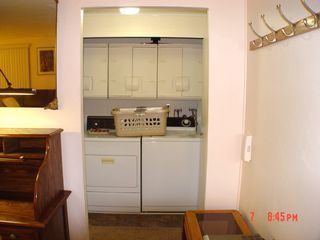 Green Valley mobile home photo - Laundry Room with closing doors