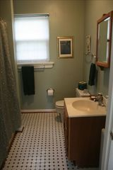 Lovettsville cottage photo - Full Bath with Tub and Shower