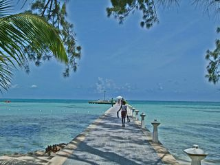 Grand Cayman condo photo - Rum Point Beach Club - Dock (next door to #33)