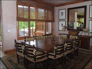 Snowmass Village house photo - Dining room with seating for 10