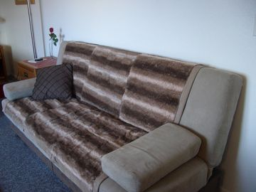 Couch-bed (Twin) comfortable for 1 person