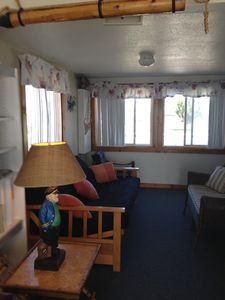 Spare room with futon off living room for extra sleeping/lounging quarters