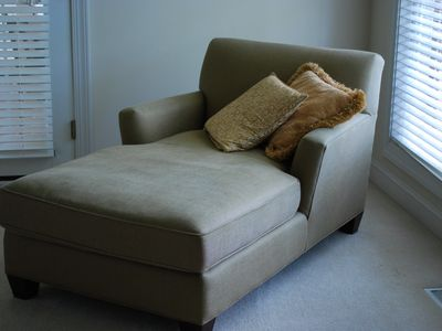 Chaise Lounge in Master Bedroom