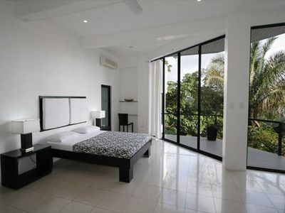Manuel Antonio house rental - Large Guest Bedroom & Balcony