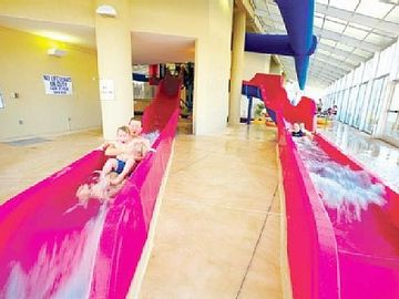 Everyone will Love the Indoor Water Slides