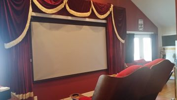 Michigan City cottage rental - Theater Room for Night Activities. 50 onsite 3D movies and 100s Blu Rays.
