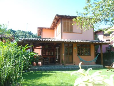 House Ilhabela - Cozy. Air conditioning, stainless steel barbecue.