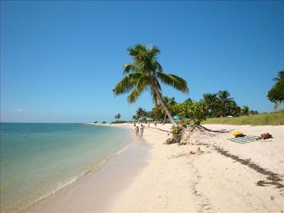 Beautiful Sombrero beach is located only minutes away. This picture says it all!