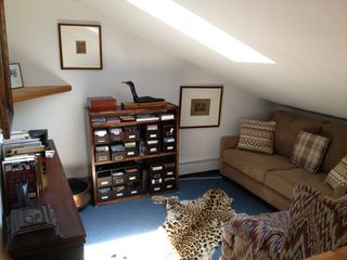 Hampton Bays house photo - 2nd floor. Den with pull out sleeper sofa