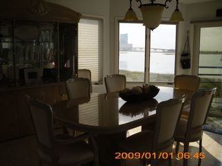 Brigantine townhome photo - The Dining Room